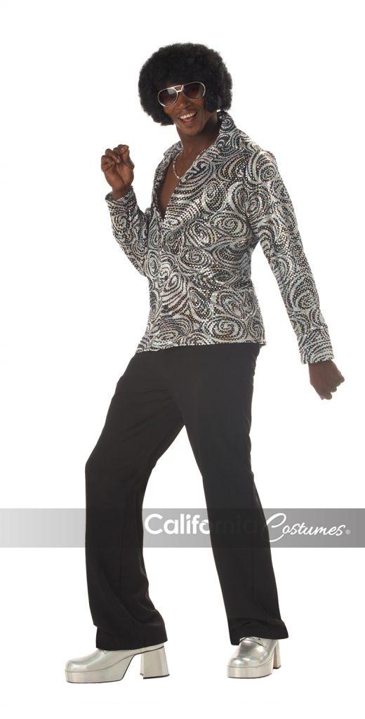 Groovy Disco Shirt Adult California Costumes