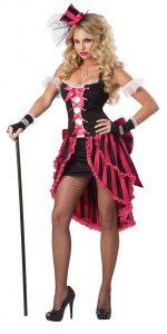 Parisian Showgirl Adult California Costumes