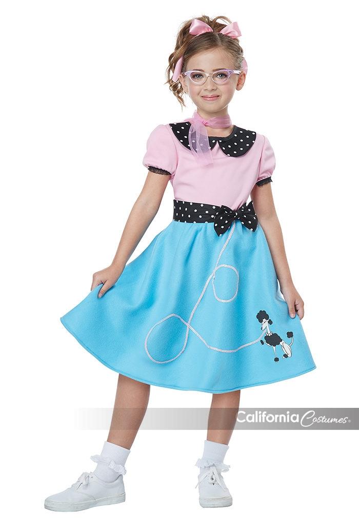50 S Sock Hop Dress Child California Costumes