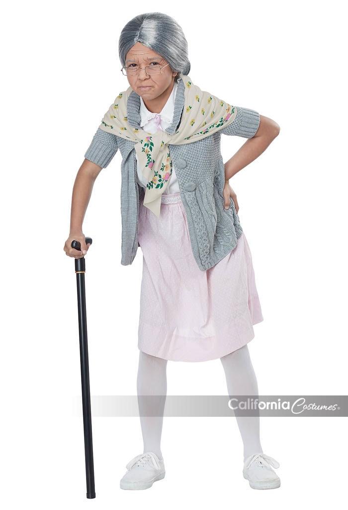 Grandma Babushka Kit Child California Costumes