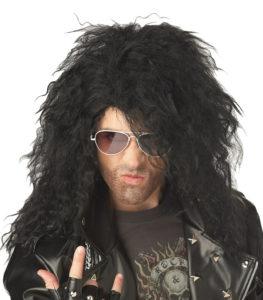 Heavy Metal Rocker Wig California Costumes