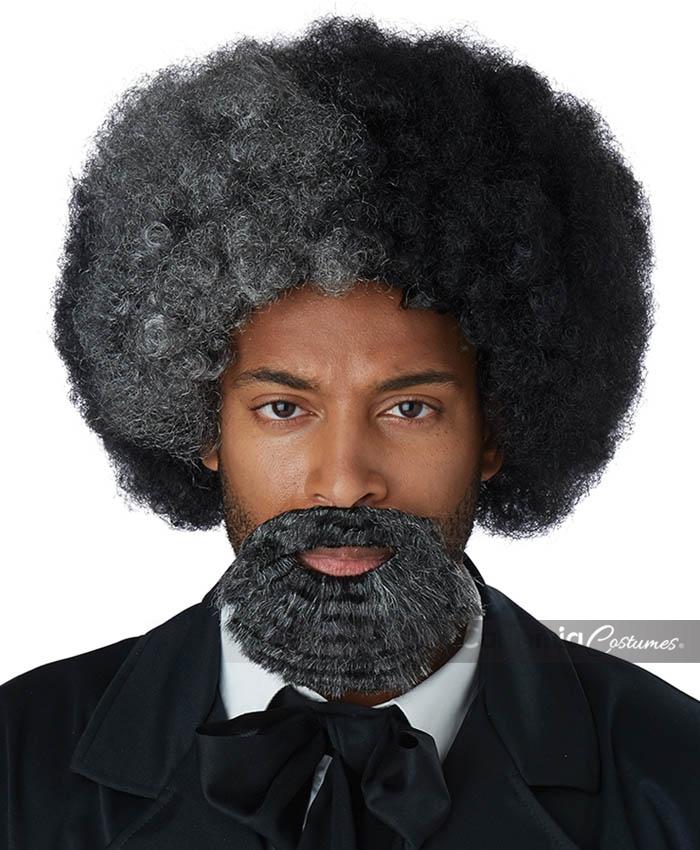 Frederick Douglass Wig And Goatee Adult California